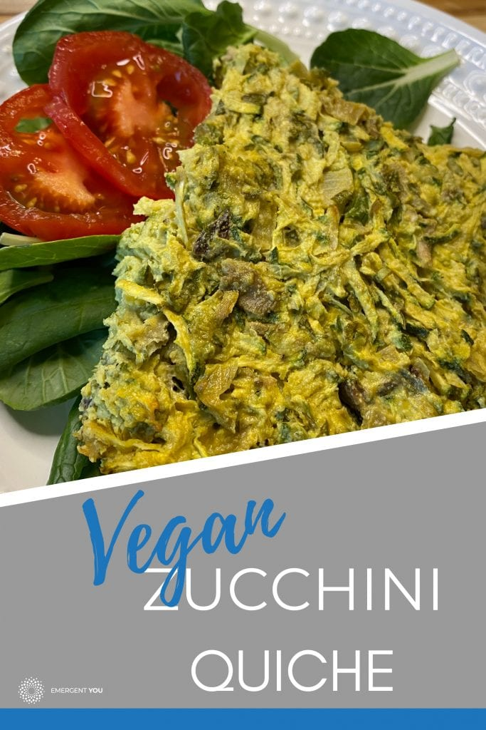 Pin this on your board for a delightful Vegan Zucchini Quiche experience!