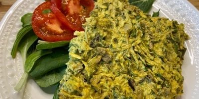 Vegan Zucchini Quiche
