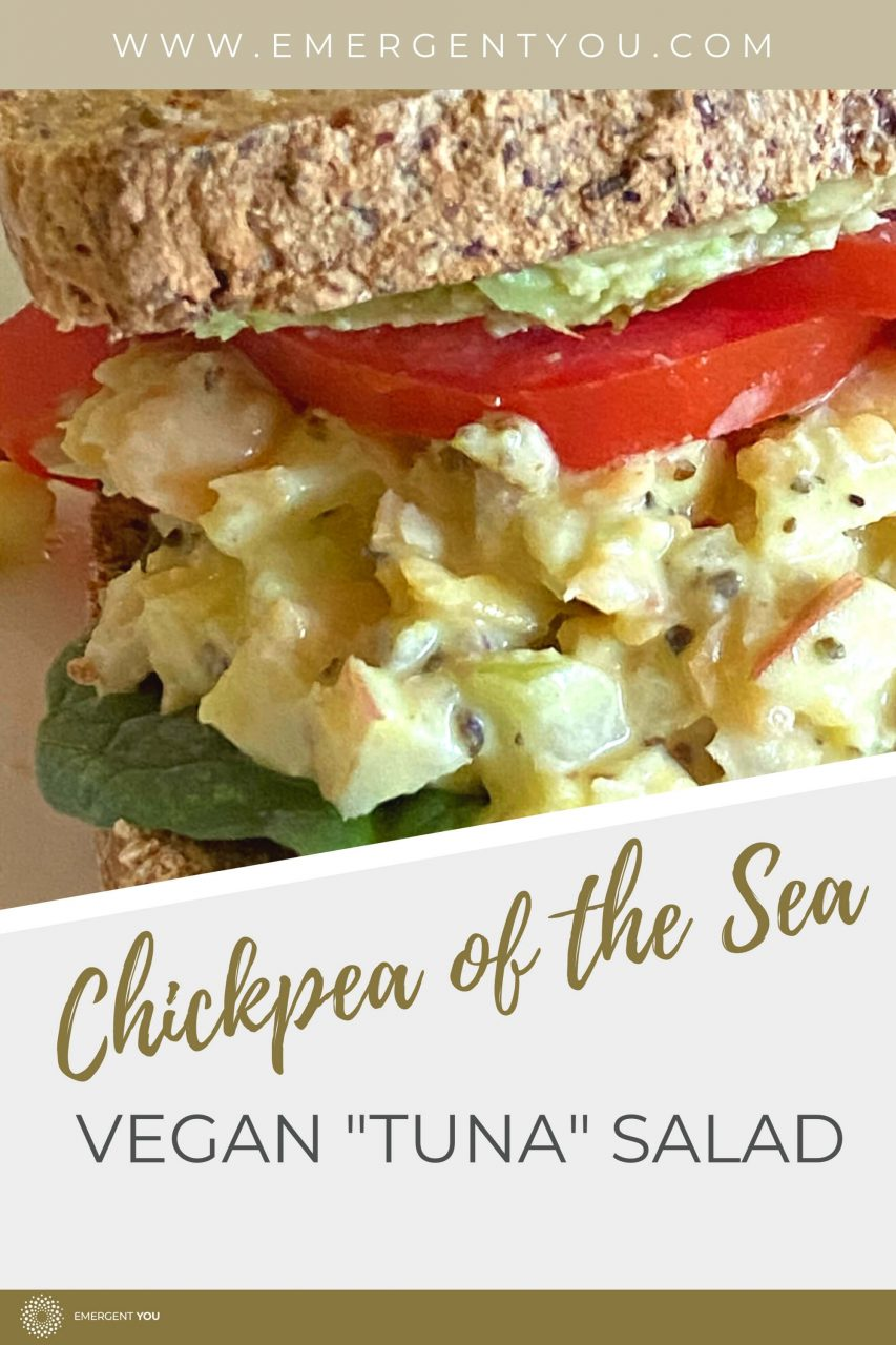 chickpea vegan tuna salad pinterest
