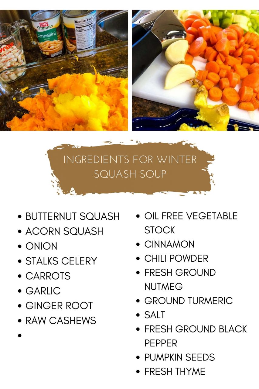 squash soup ingredients